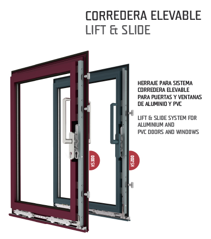Corredera elevable / Lift & Slide